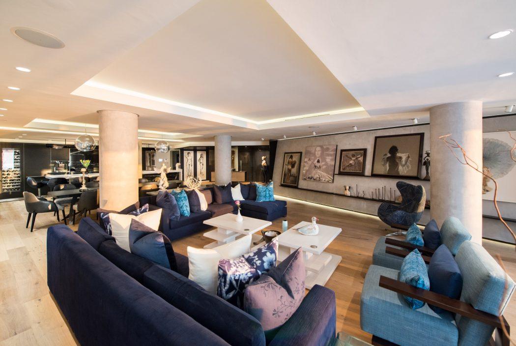 Modern Apartment Design © Inhouse Brand Architects Interior Design Apartment