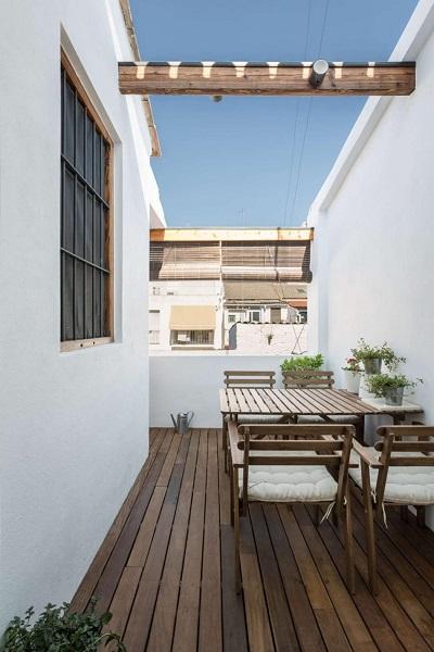 Modern rooftop design