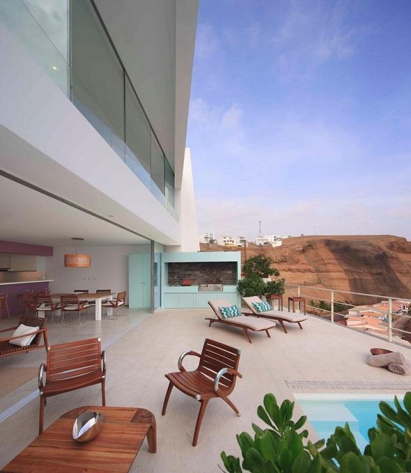 Modern terrace room design