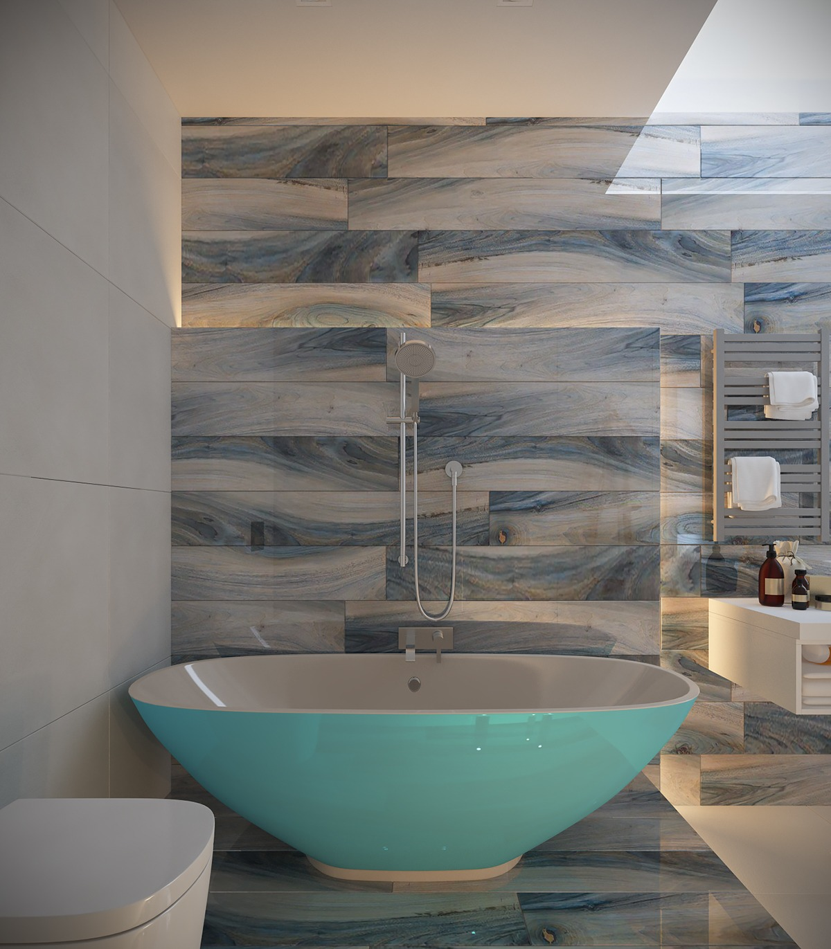 natural blue bathroom inspiration