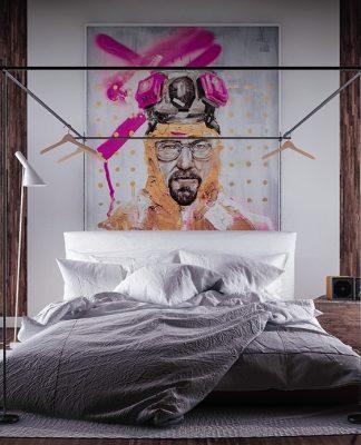 pop art bedroom design