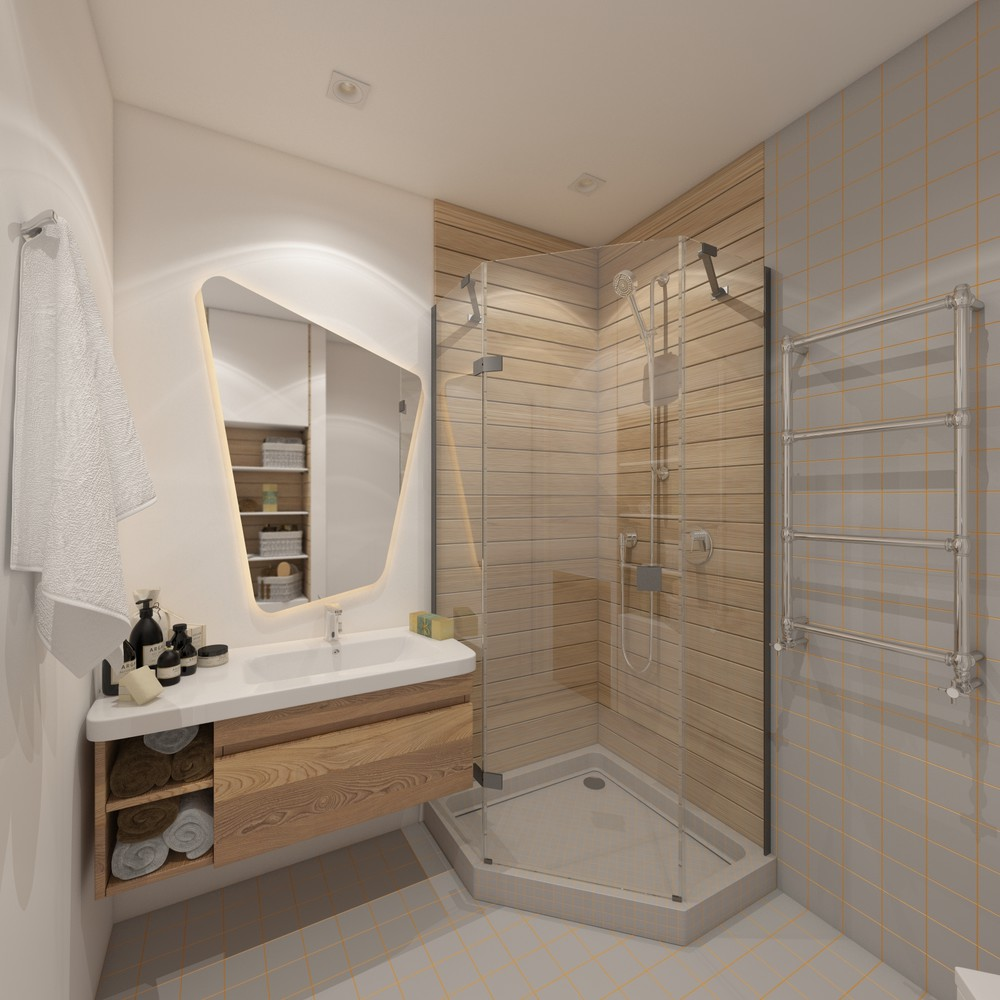 Small bathroom design ideas with awesome decoration which for Awesome bathroom designs