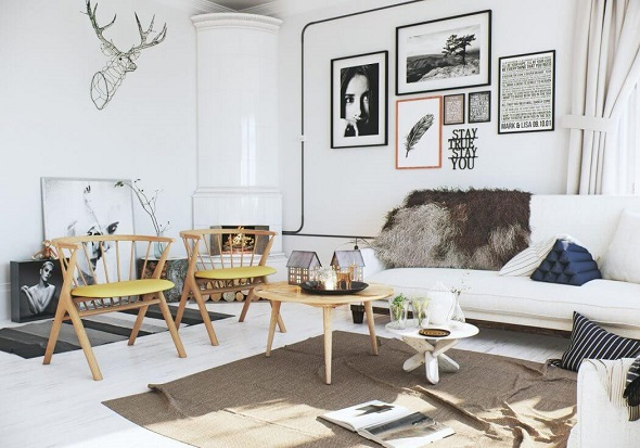Featuring scandinavian apartment decoration ideas beautified with contemporary interior and - Contemporary interior design ideas arrangements modern updated decorations ...