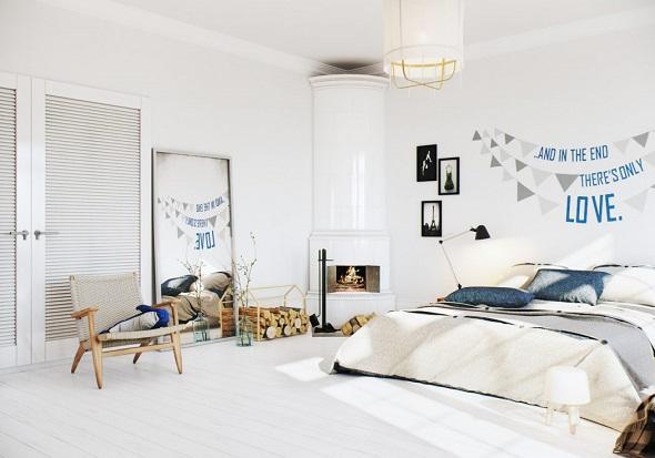 Scandinavian bedroom interior ideas