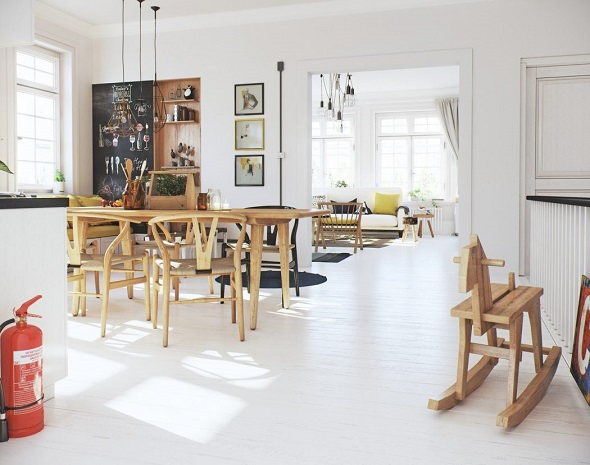 Scandinavian dining room interior ideas