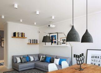 Scandinavian small living room design