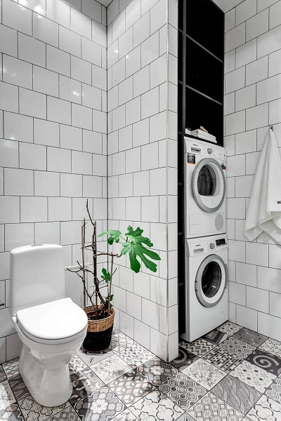 Small bathroom design interior
