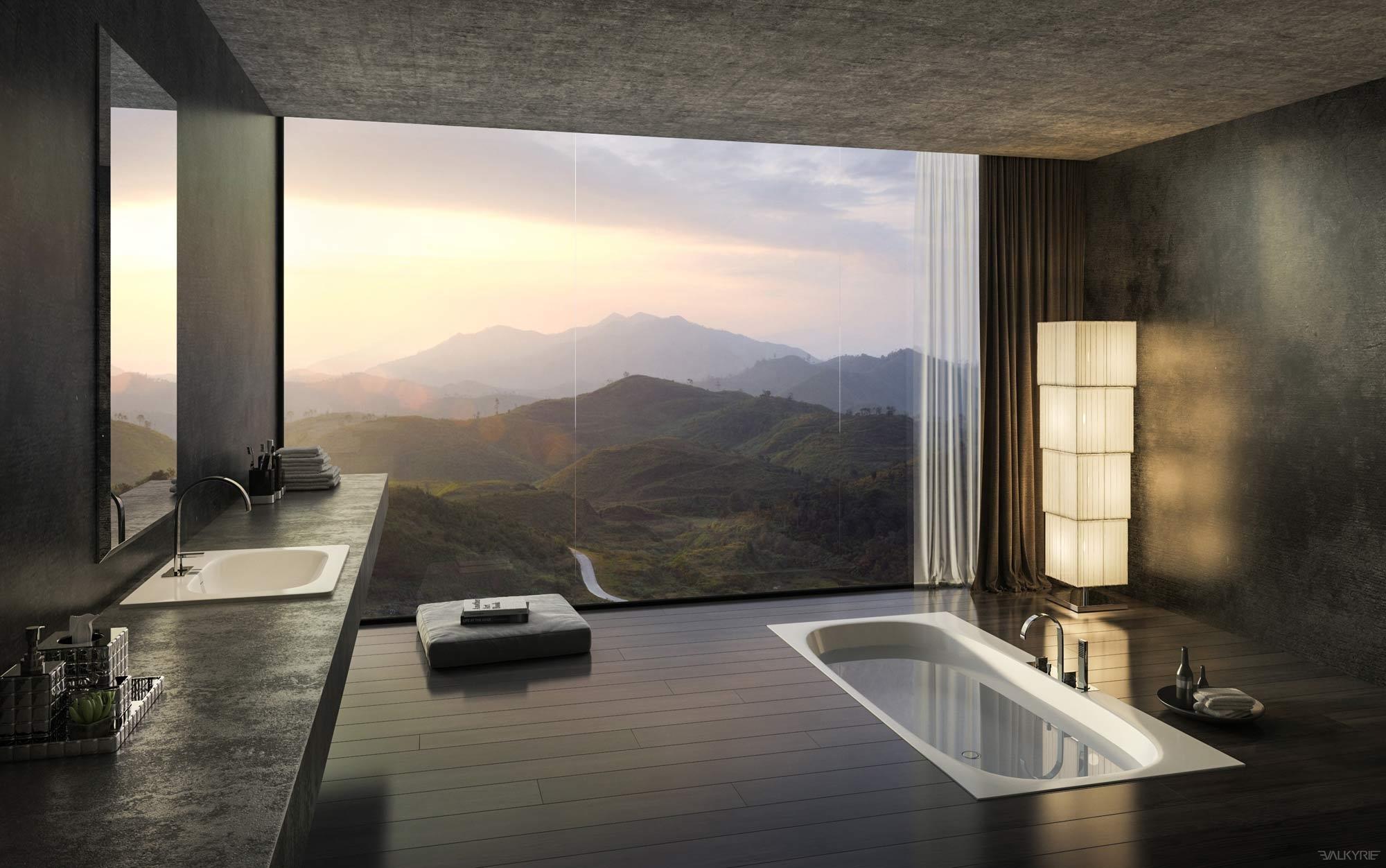 stunning bathroom design