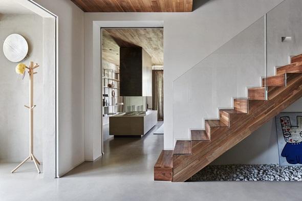 Two-storey house interior