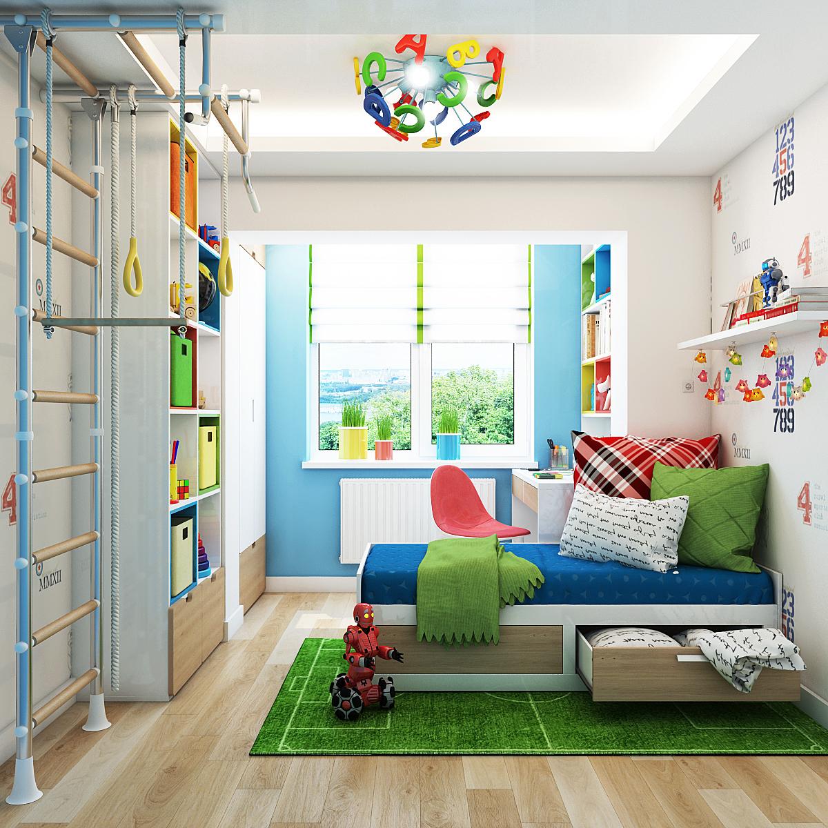 charming kids room