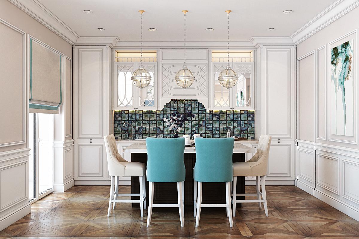 small modern dining room design