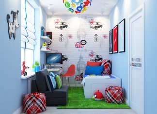 modern kids room design