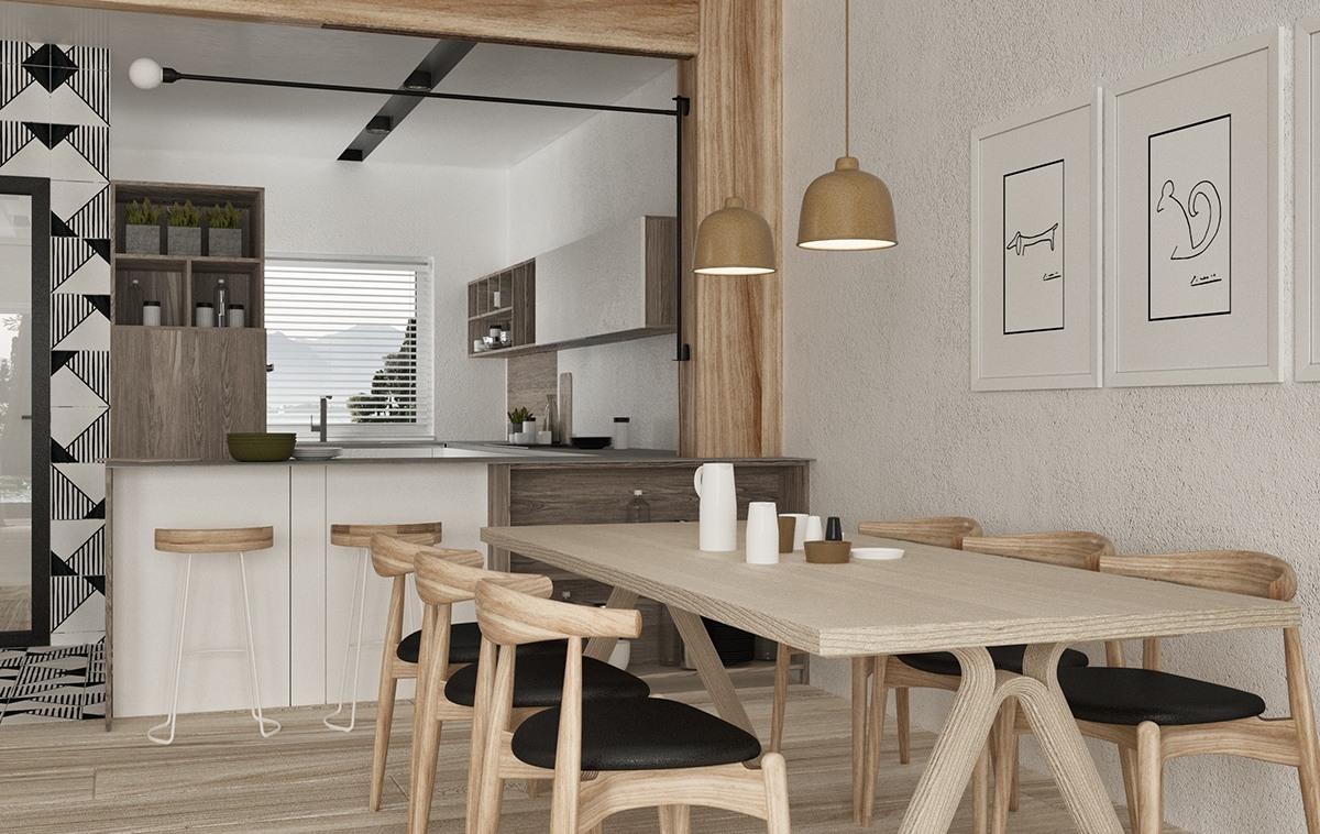 minimalist wooden design