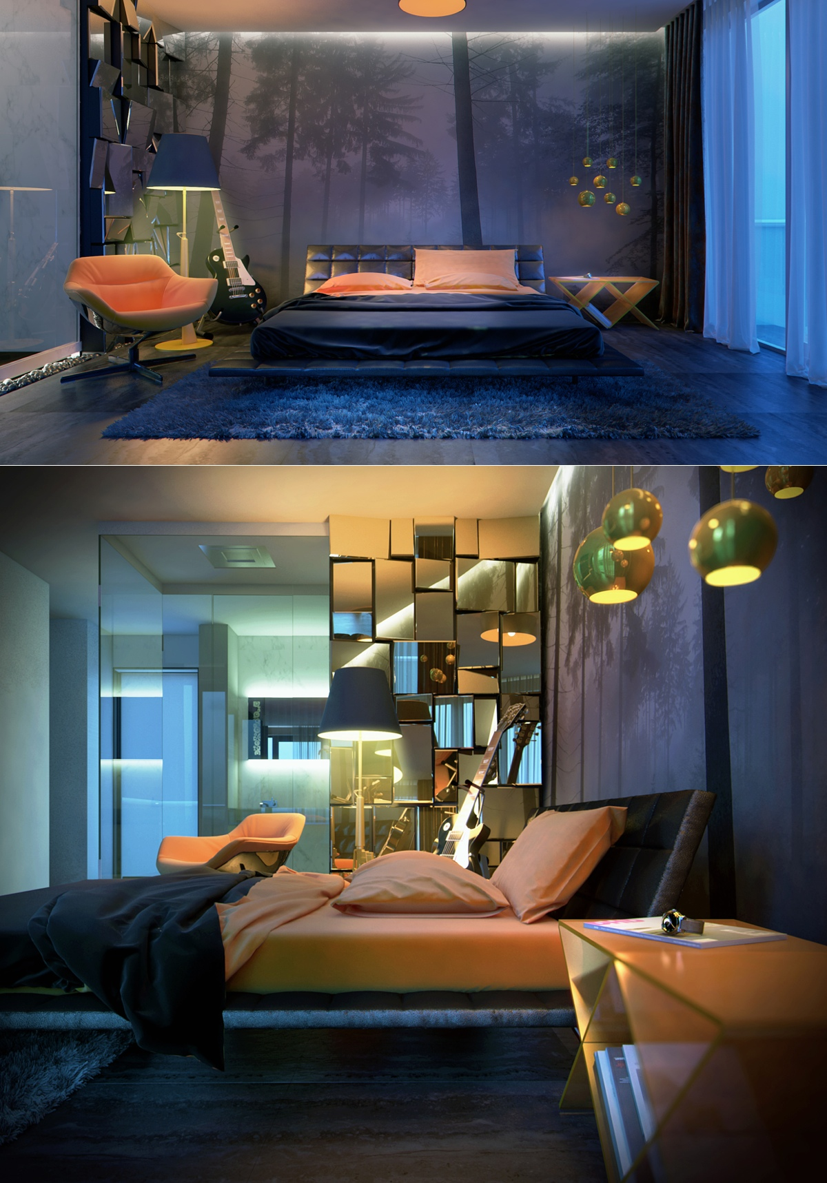 extraordinary bedroom design
