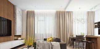simple apartment interior design