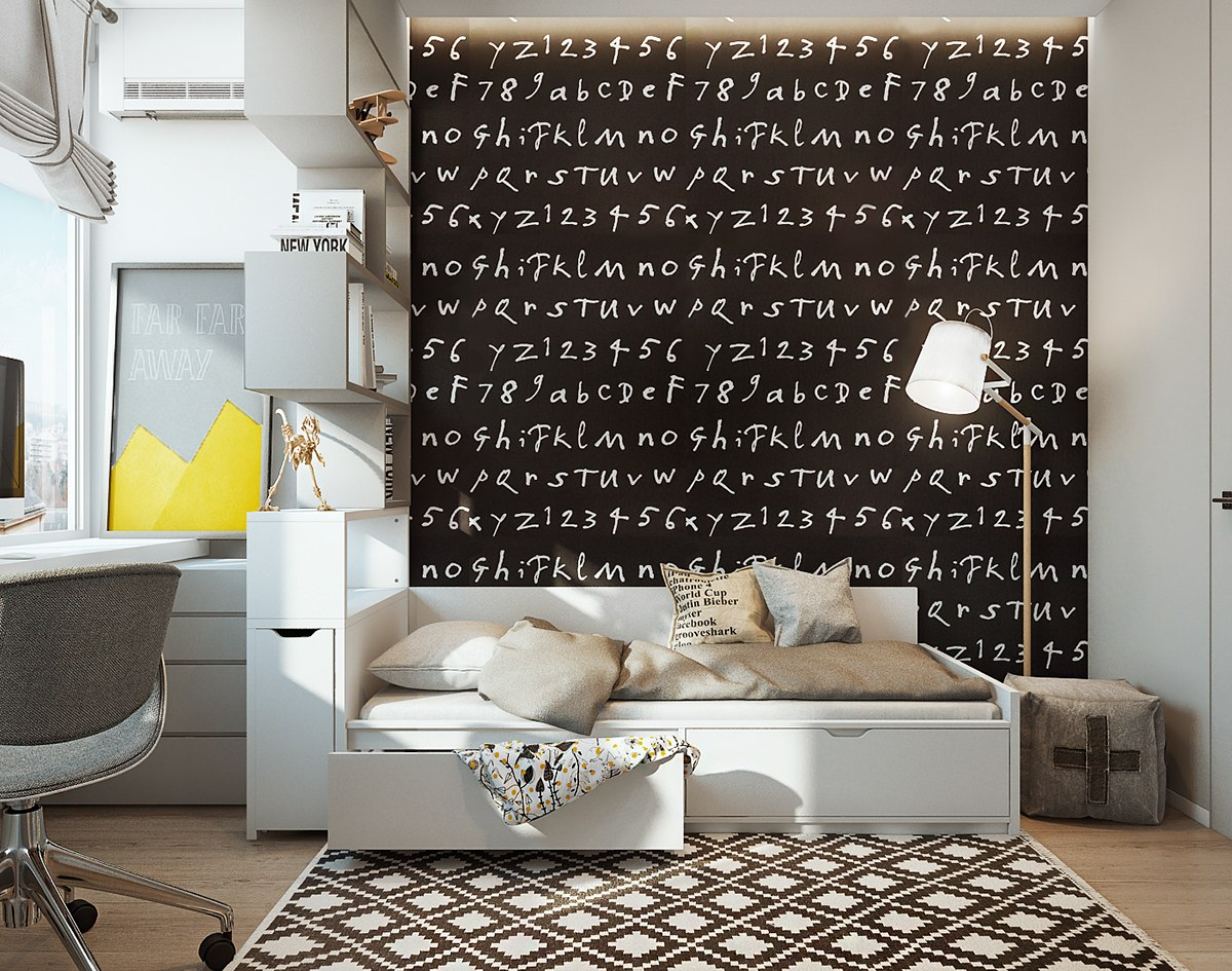 chalkboard wall decor ideas