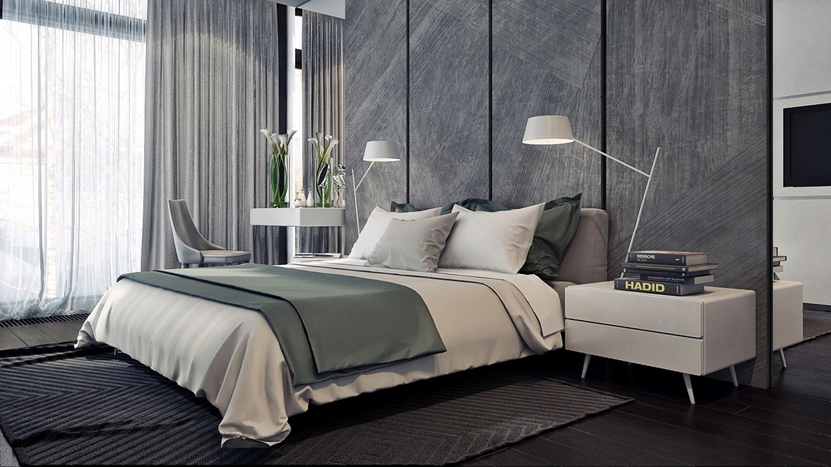 awesome gray bedroom decor