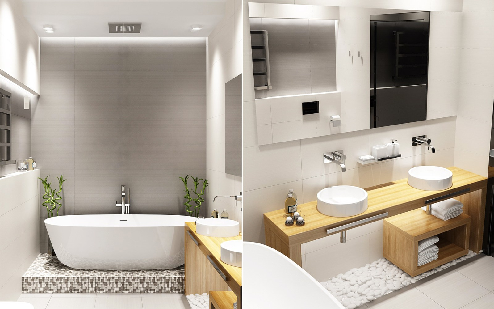 Gorgeous bathroom design ideas looks so trendy which for Trendy bathroom ideas