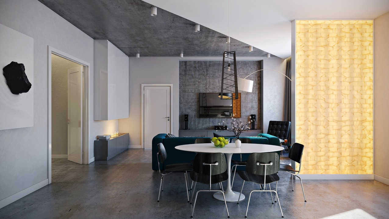 Modern dining room designs combined with minimalist decor and ...