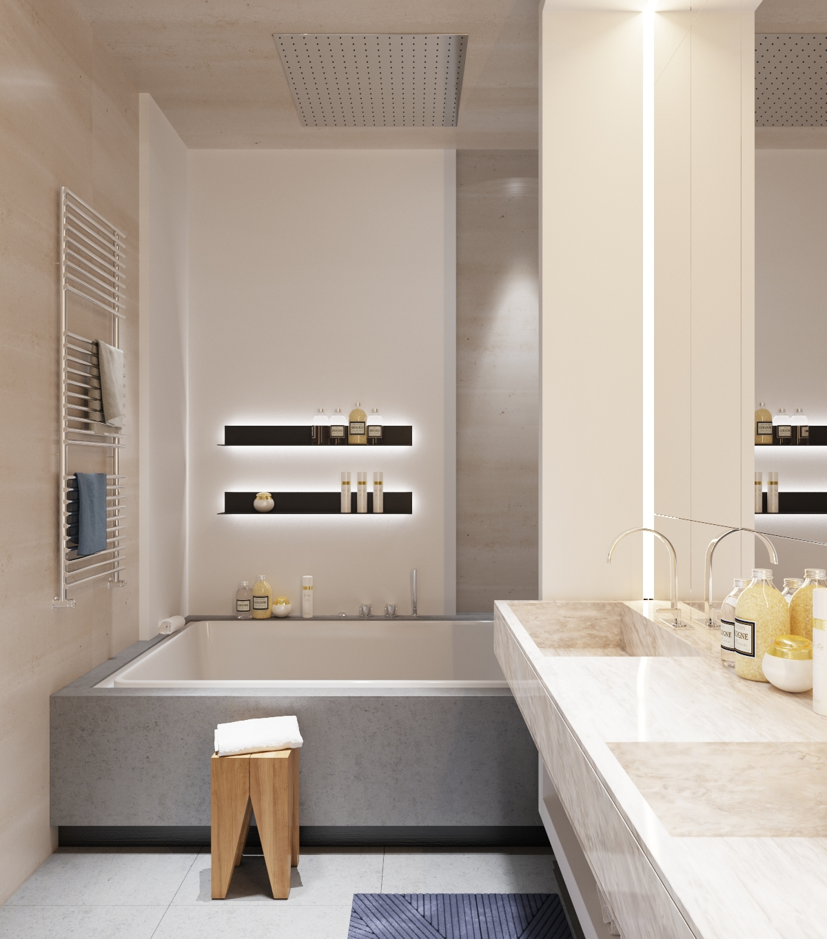 Minimalist Bathroom Design Pinterest: Small Minimalist Bathroom Designs Decorated With Variety