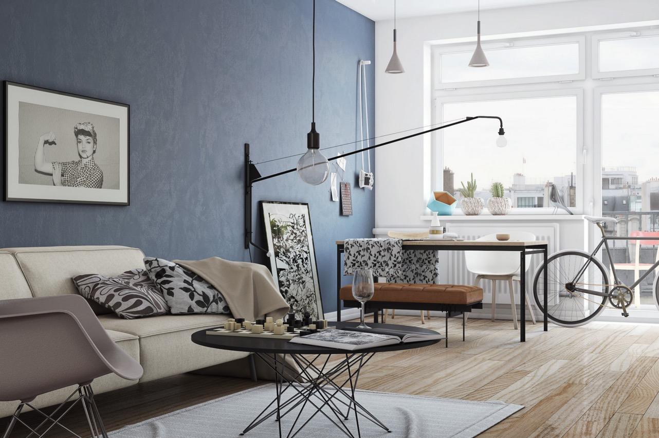 luxury white living room