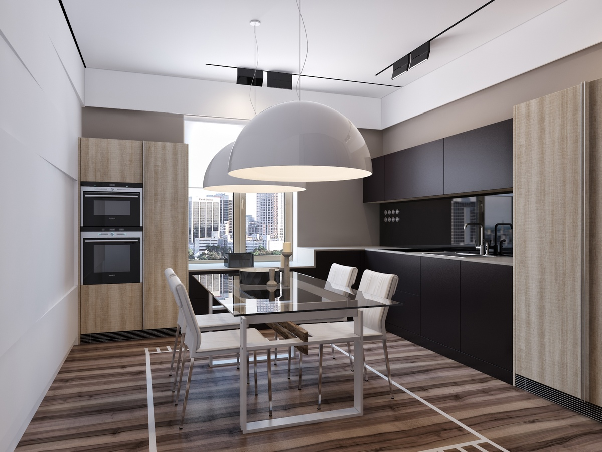 trendy dining and kitchen decor