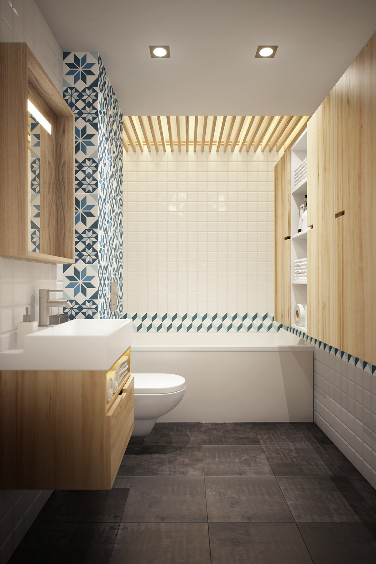 small modern bathroom design