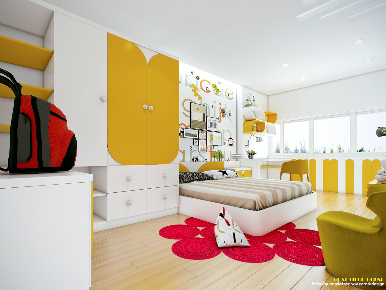 trendy teen room design