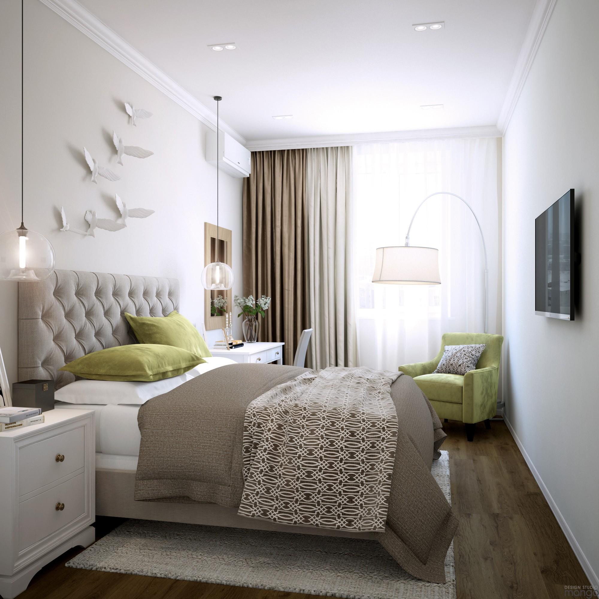 modern bedroom backsplash