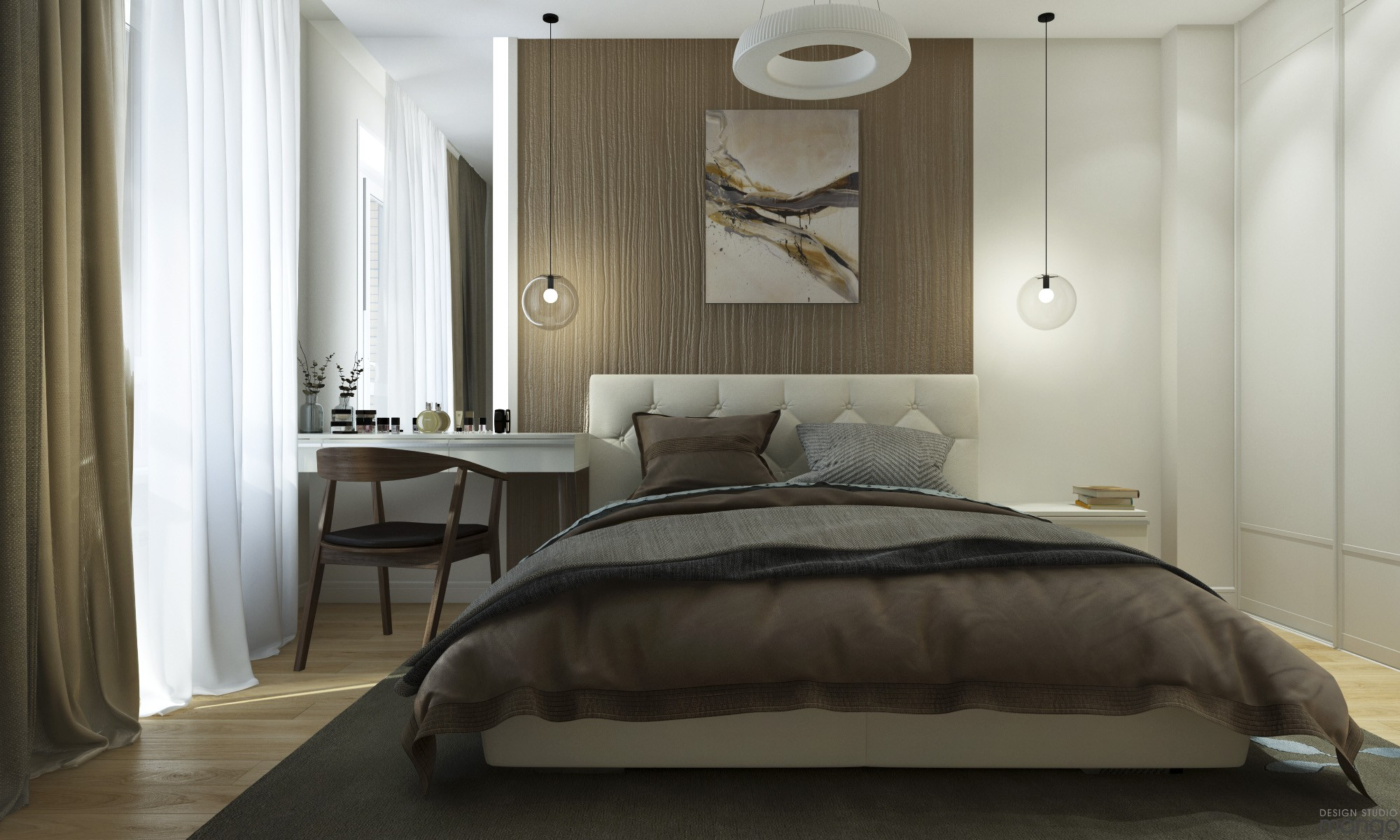 minimalist bedroom interior deisgn