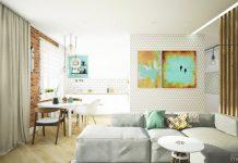 modern small apartment design