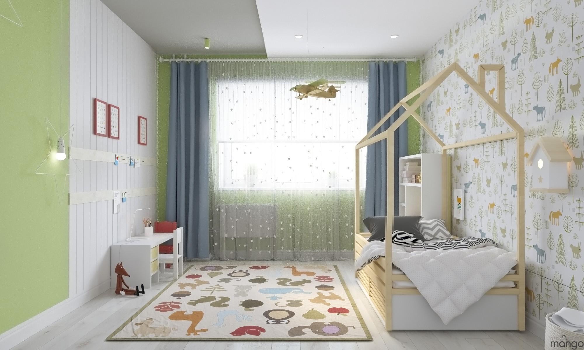 Colorful wallpaper design ideas