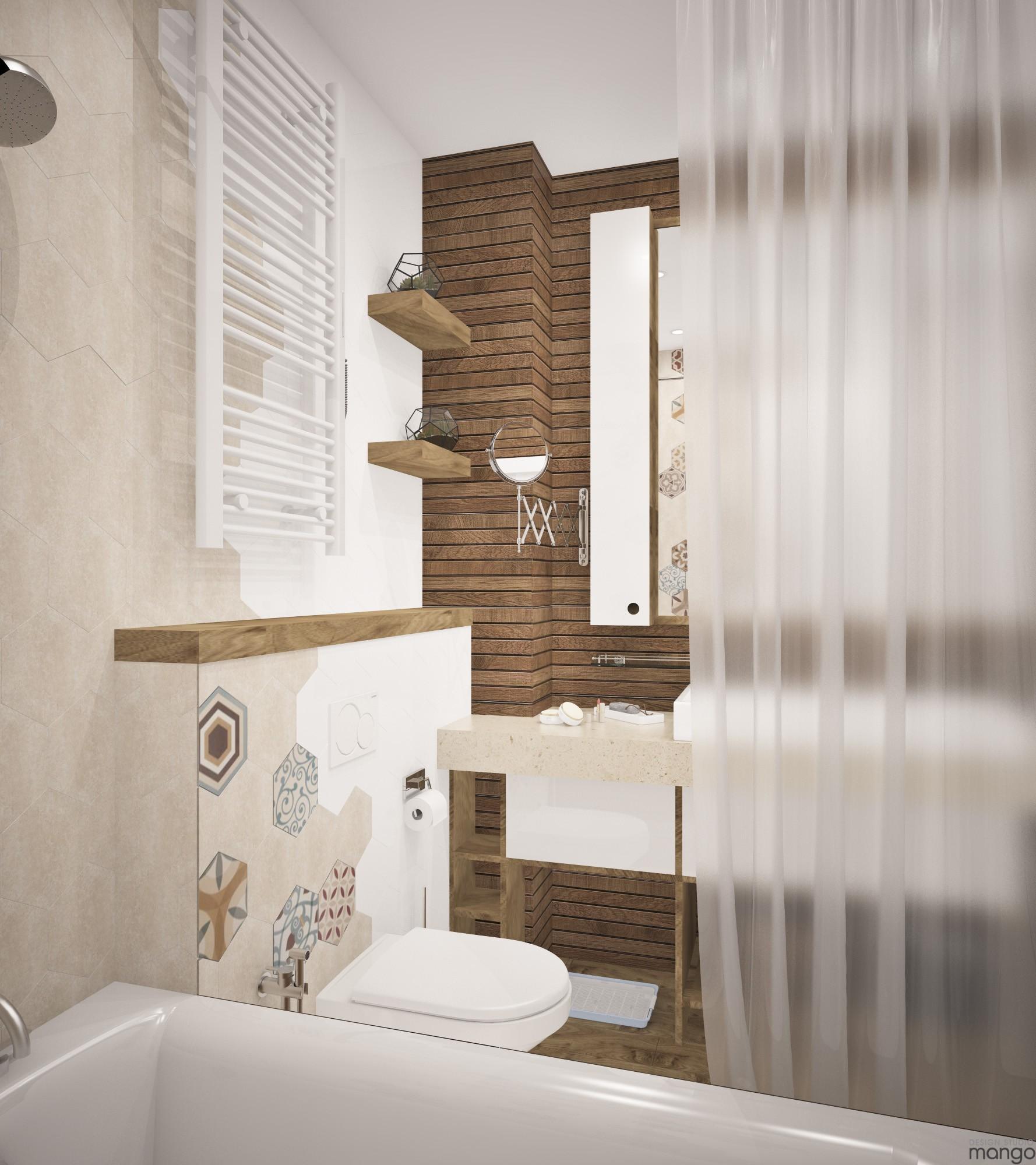 trendy tile backsplash design