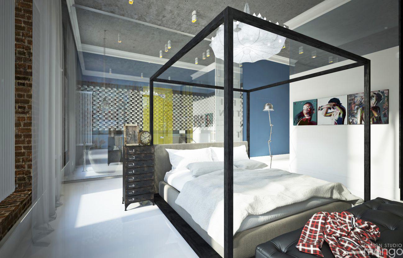 minimalist teen room