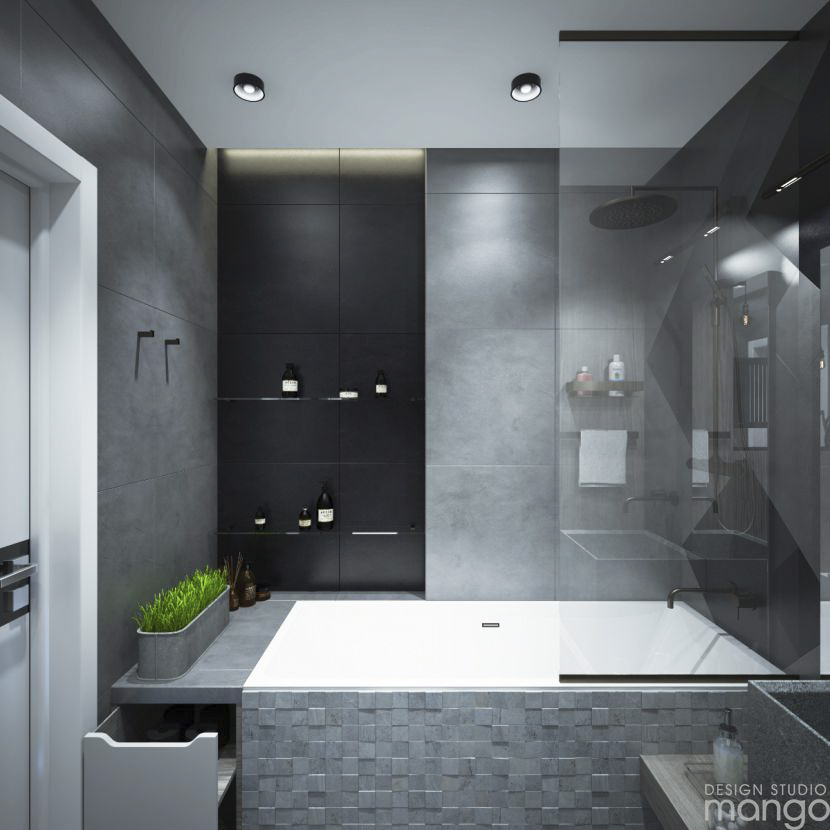 Modern small bathroom designs combined with variety of - Beautiful modern bathroom designs ...