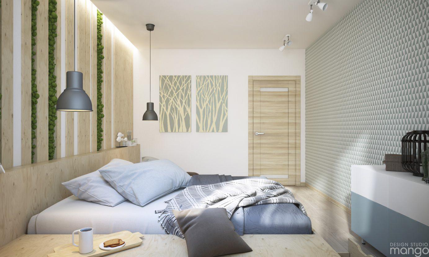 soft modern bedroom design