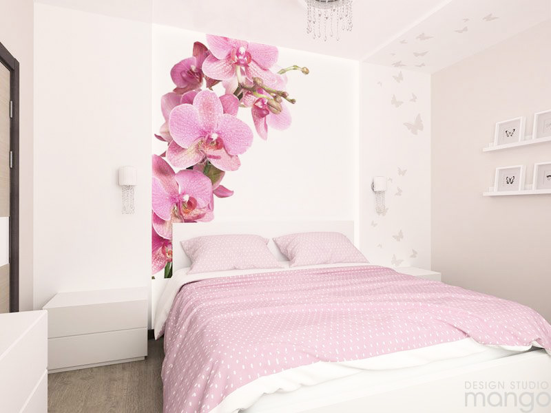 pink bedroom deisgn