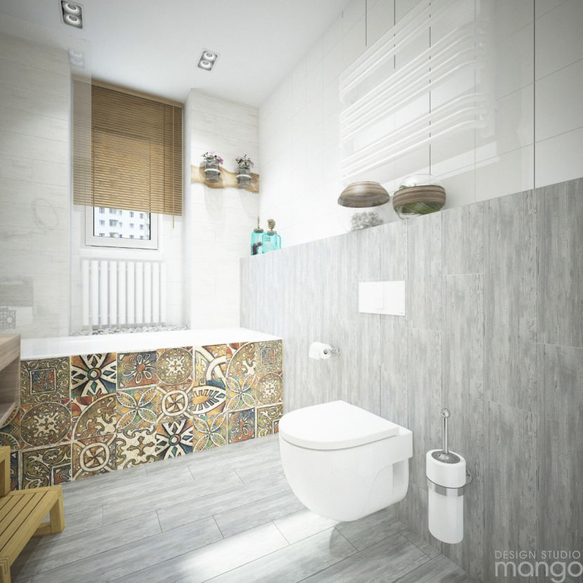 tribal tile design ideas