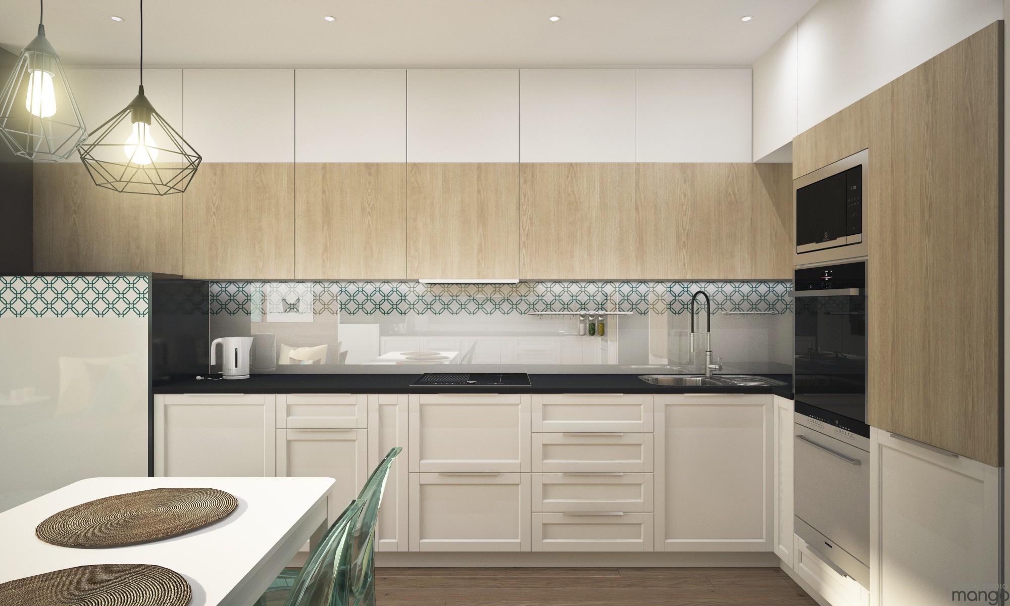 modern kitchen backsplash decor