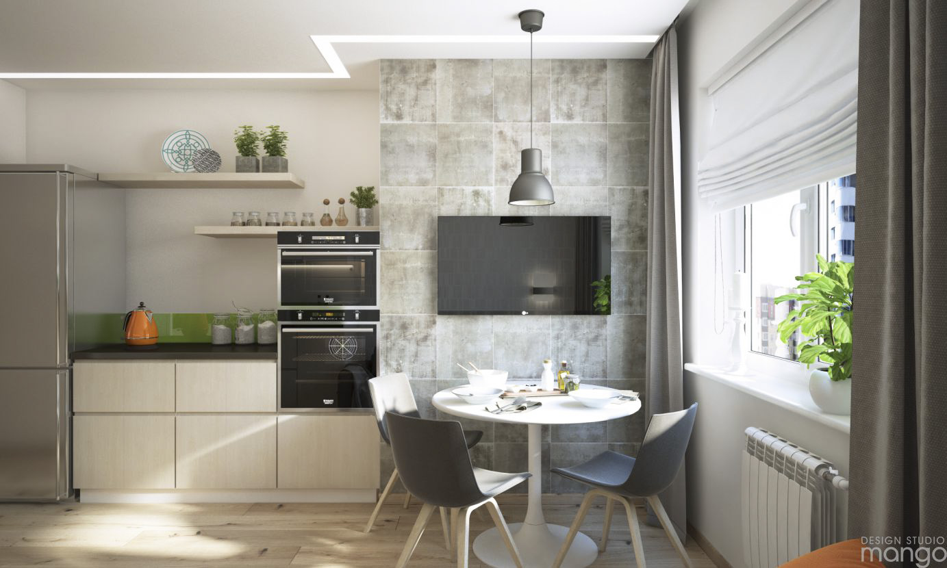 simple small dining room