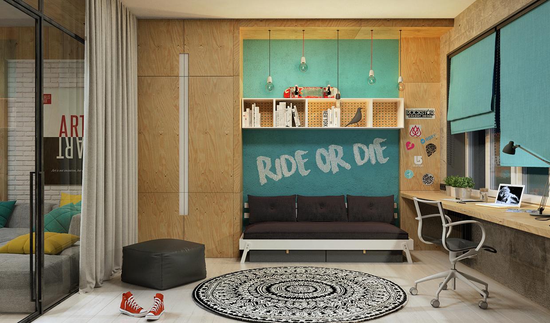 trendy apartment interior design