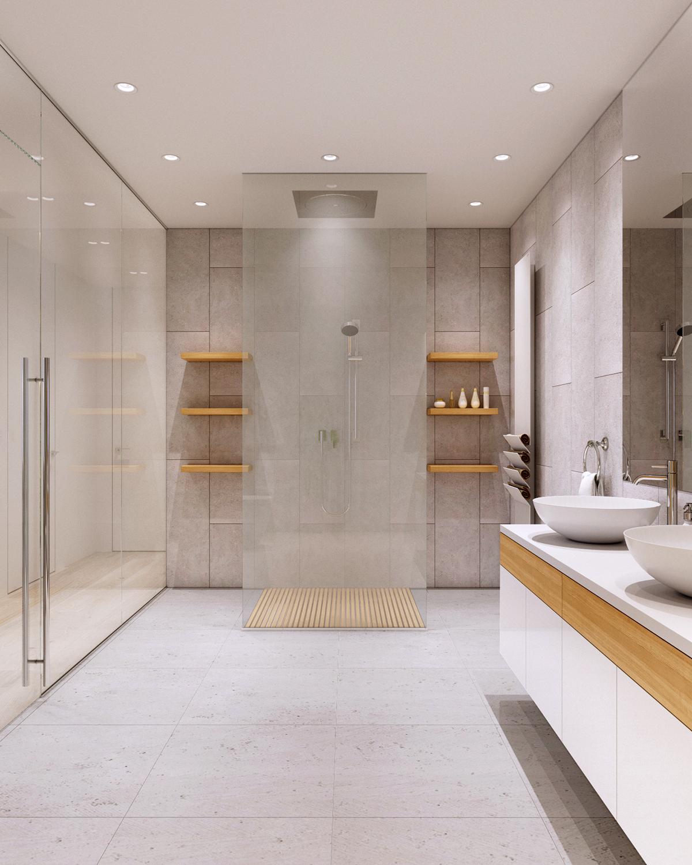 whte bathroom decorating ideas