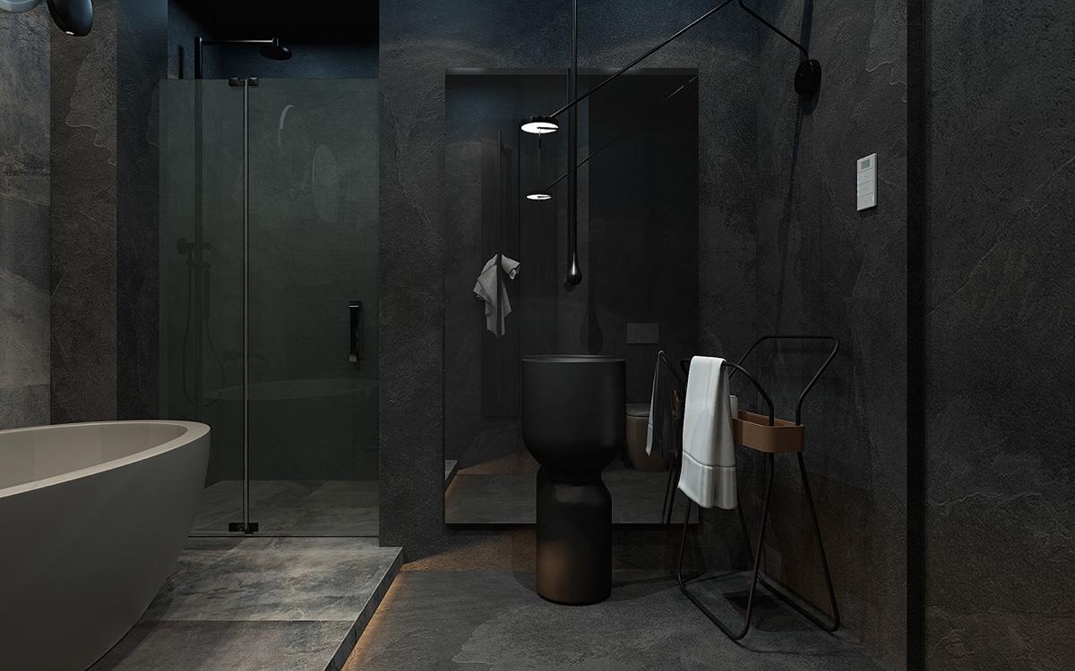 minimalist bathroom decor