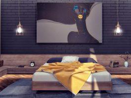 gorgeous dark bedroom decor