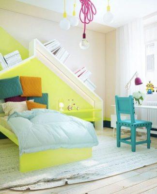 colorful kids room decor