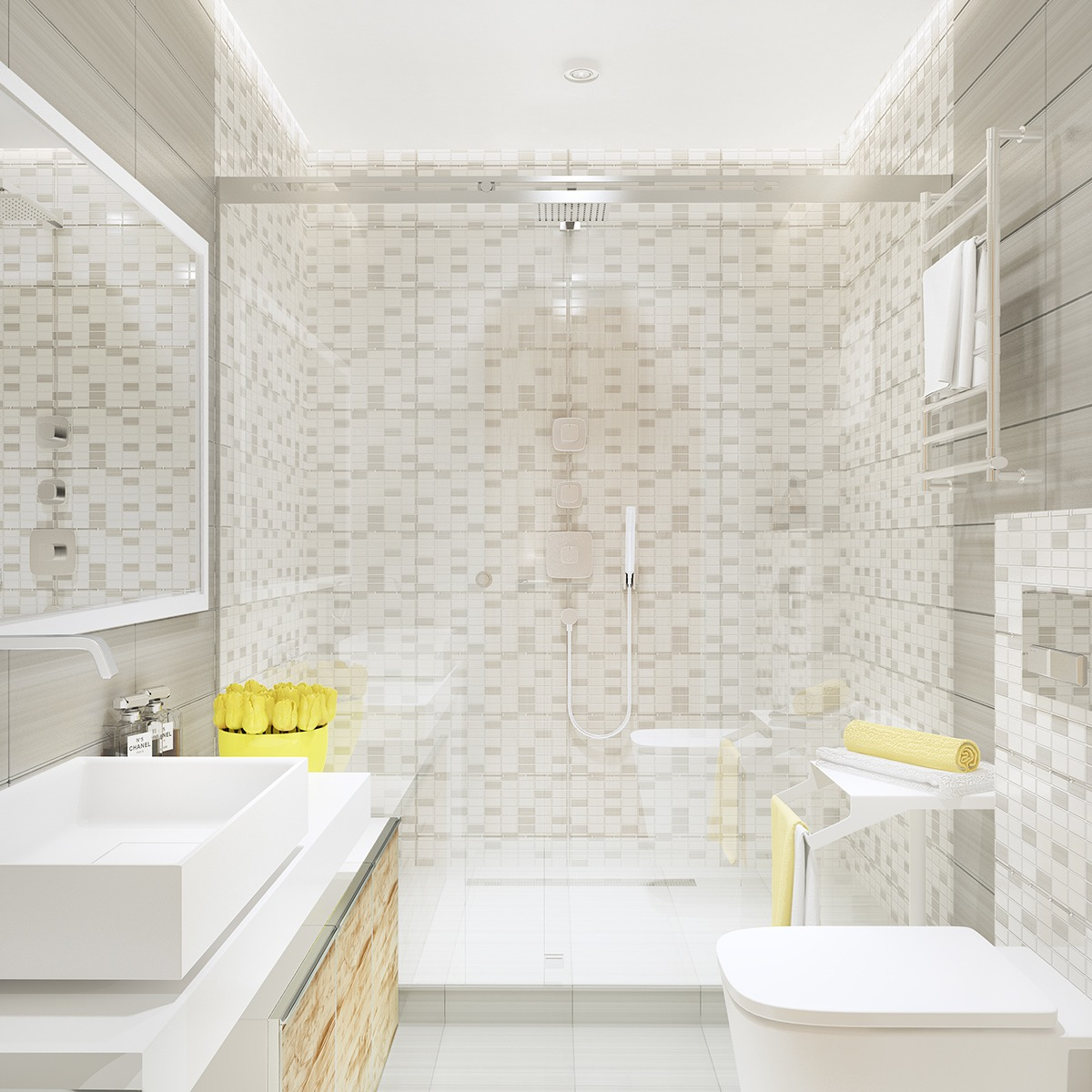 Small Minimalist Bathroom Designs Decorated With Variety of Modern ...