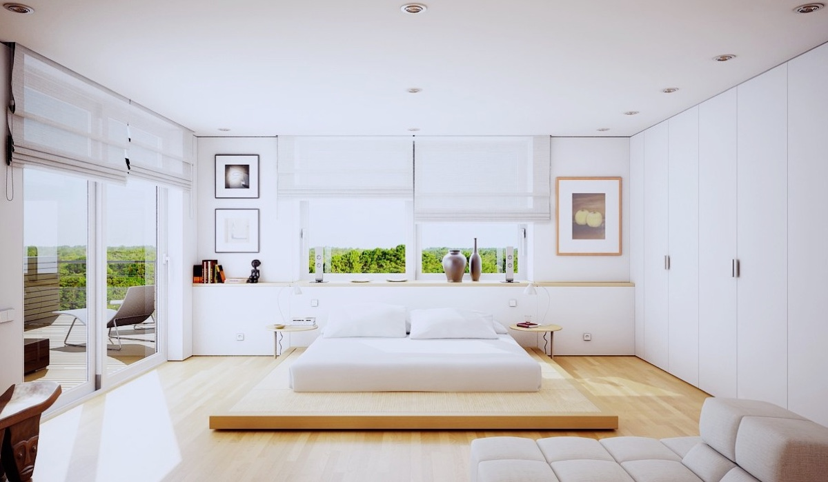 relaxing bedroom design