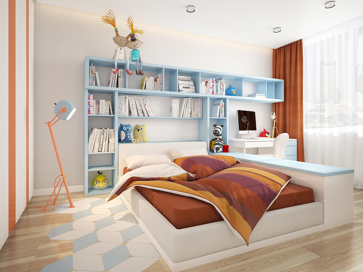 minimalist kids room design