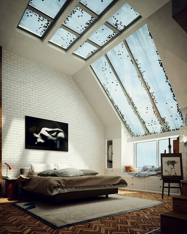 modern and minimalist bedroom design