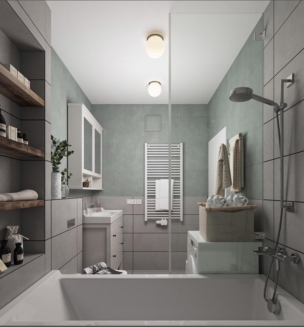 simple bathroom decorating iddeas